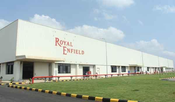 Pabrik Royal Enfield di Oragadam, Tamil Nadu