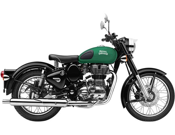 Royal Enfield Classic 350 - Redditch Green