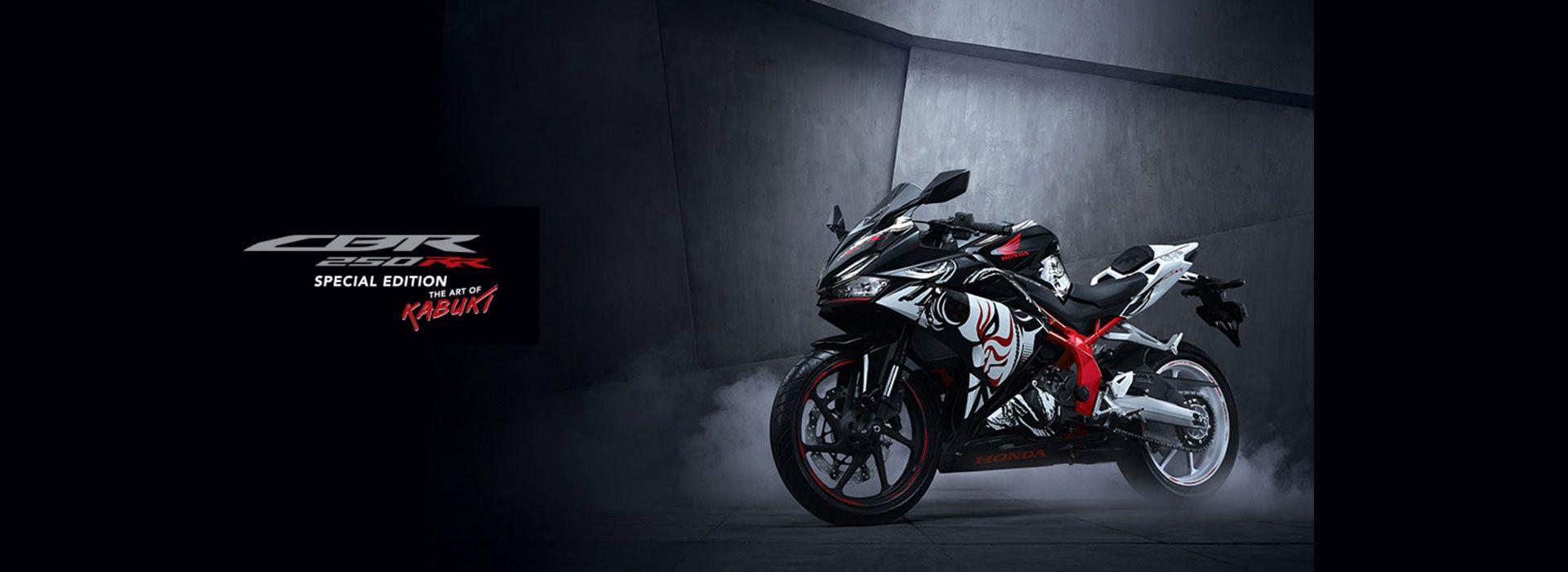 New Honda CBR250RR Special Edition - Tema The Art of Kabuki