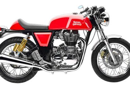 Royal Enfield Continental GT Merah