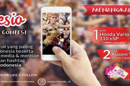 Kontes Foto & Video - We Love Indonesia - Honda