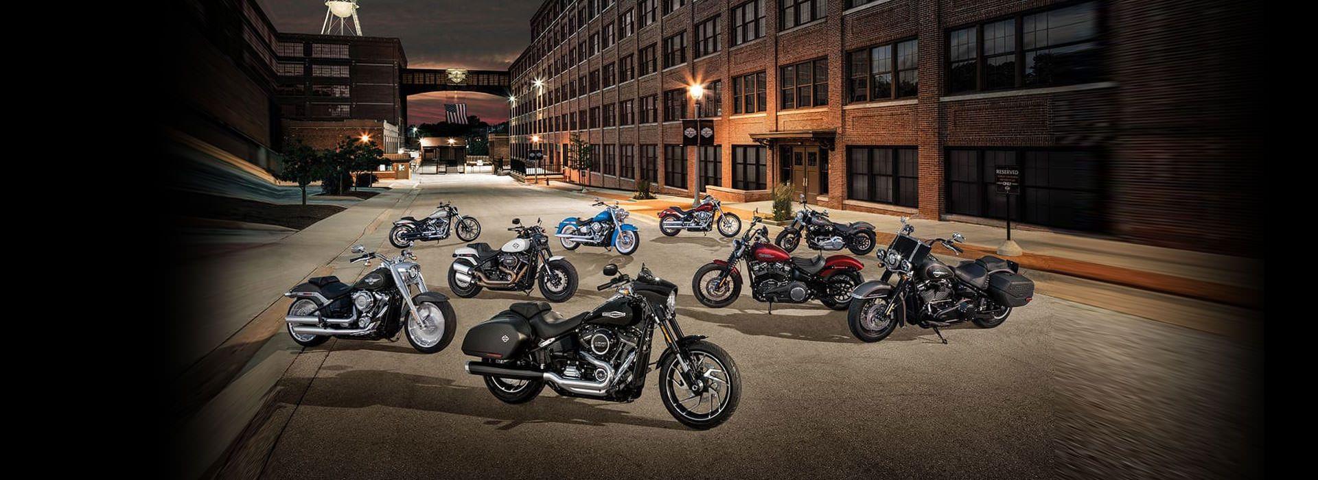 Sembilan Model Softail® Harley Davidson