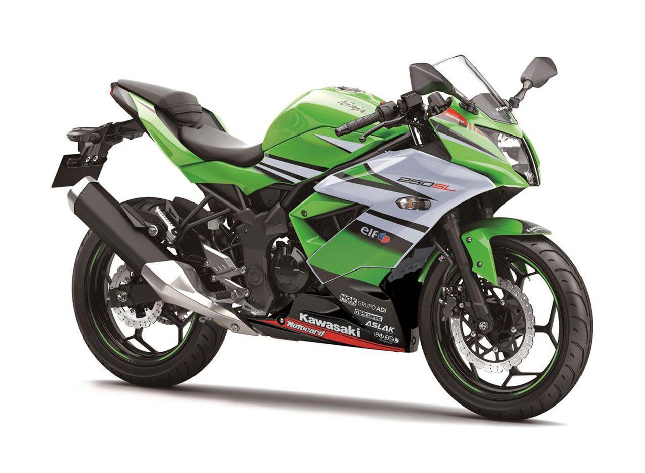 Kawasaki Ninja 250SL Warna Hijau