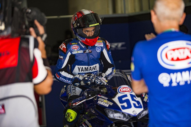Kendala Tenkis - Galang Hendra di WSSP300 - Honda Racing Team