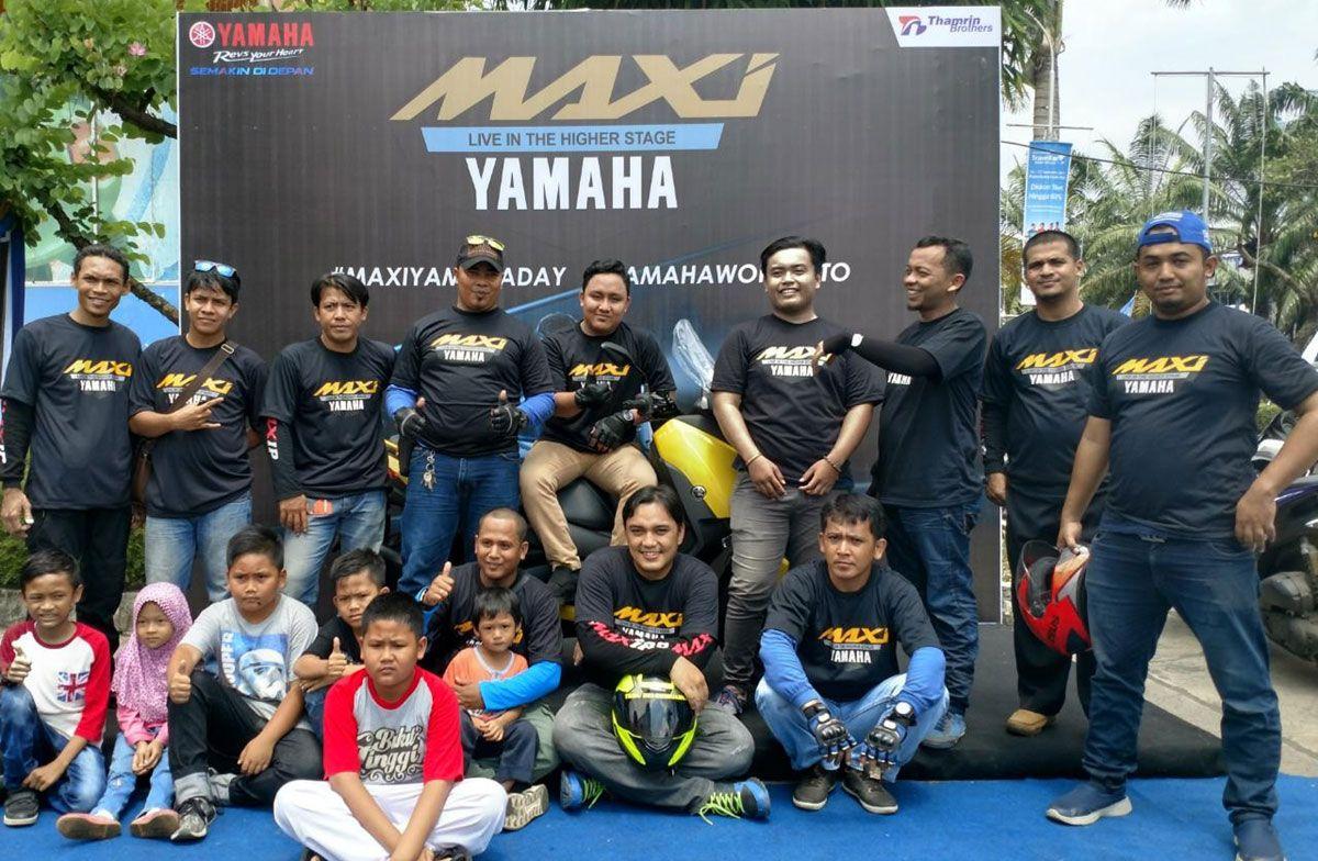 Gathering Skutik Premium di Palembang