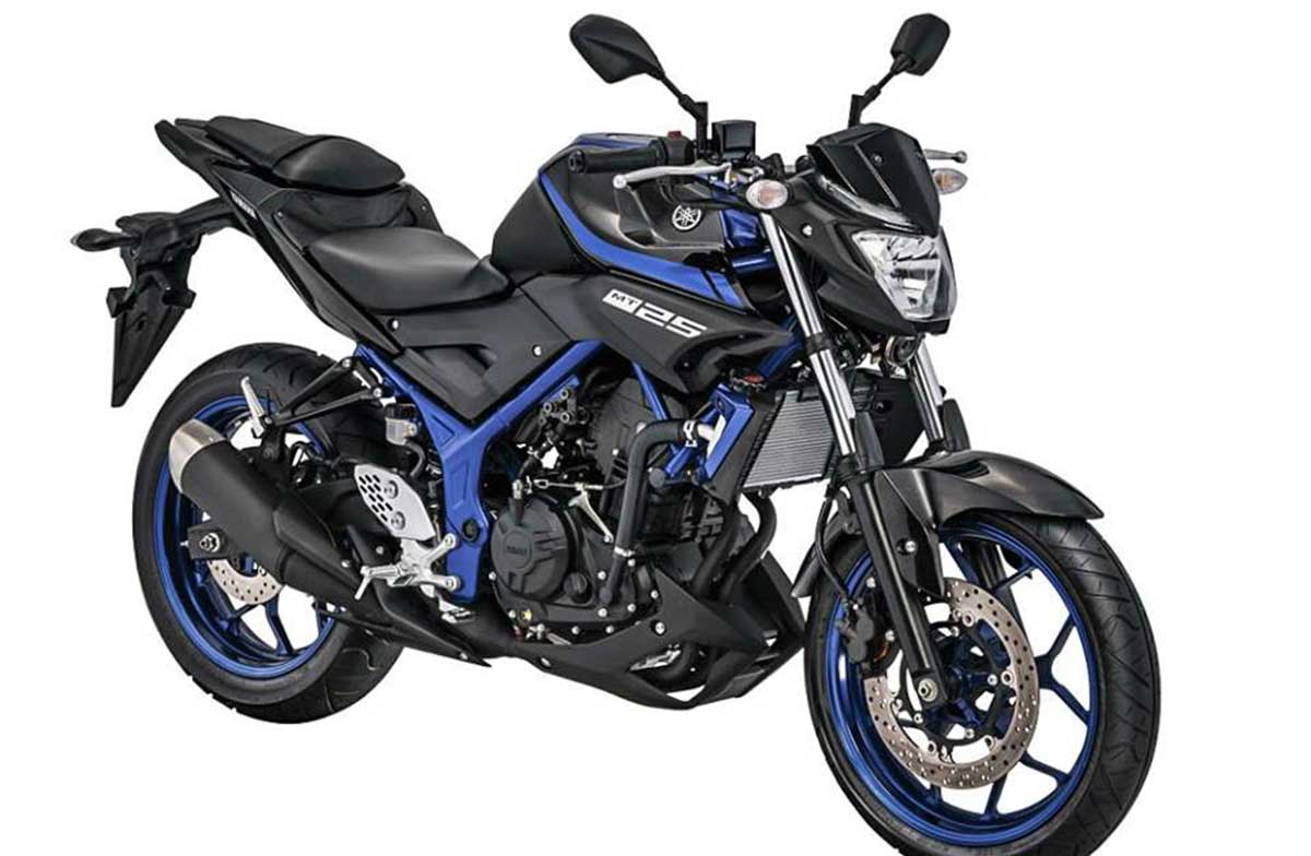 Yamaha MT25 Warna Blue Metalic 2017