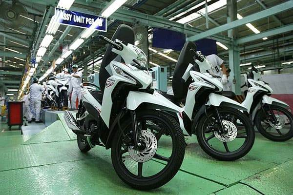 Pabrik Honda Jakarta - New Honda Revo X