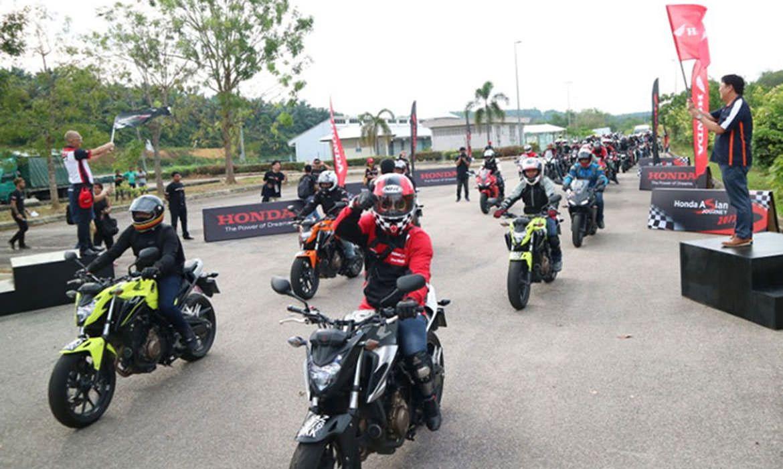 Honda Asian Journey - Big Bike Tour Malaysia 2017