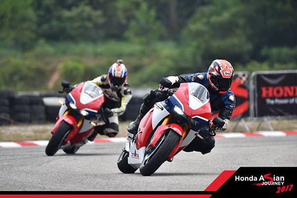 Honda Asian Journey 2017 - Sirkuit Melaka