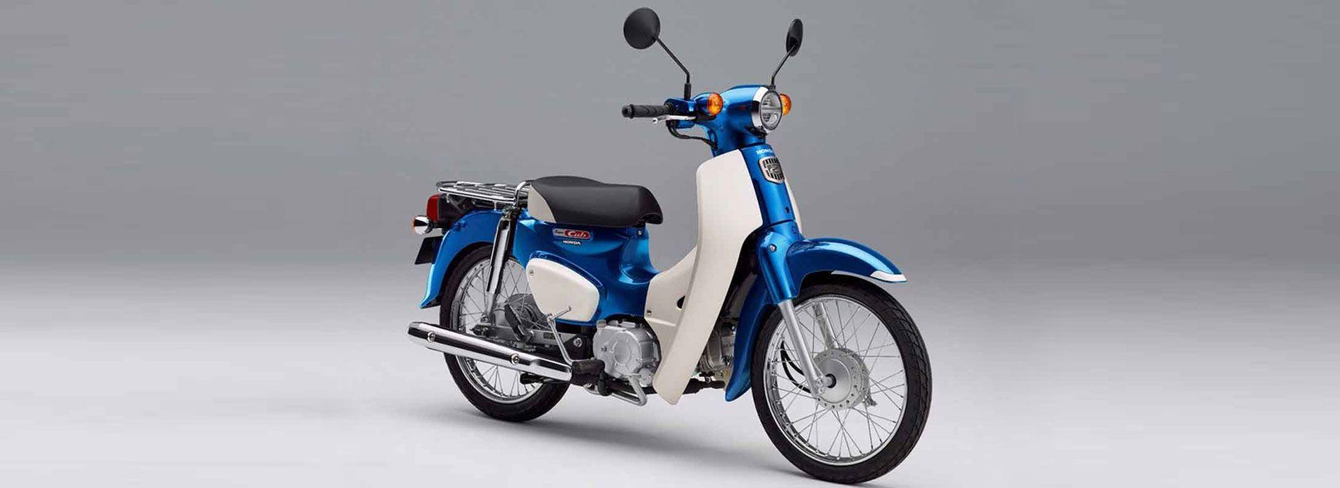 Honda Super Cub 2018 - Glint Wave Blue Metalic