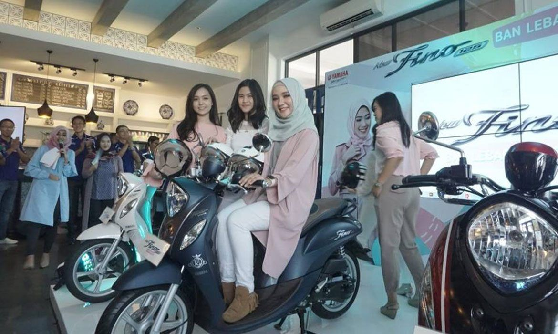 Launching New Fino 125 Blue Core - Ayu Indriati