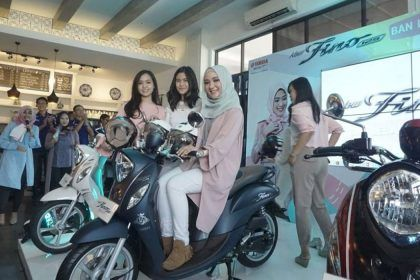 Launching New Fino 125 Blue Core - Ayu Indriati