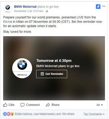 BMW Motorrad EICMA 2017