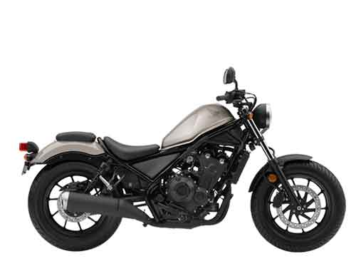 Honda CMX500 Rebel - Mat Armored