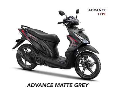 Honda Vario eSP 110 CC - Advance Matte Grey
