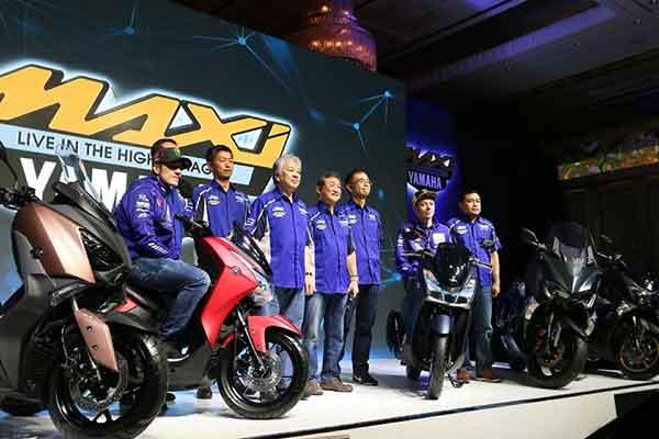 Peluncuran Yamaha Lexi 2018