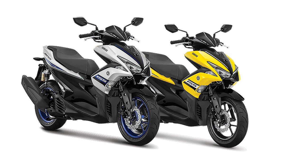 Yamaha Aerox 155 VVA R Version 2018