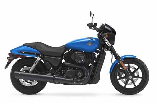 Harley Davidson Street 500 - Electric Blue