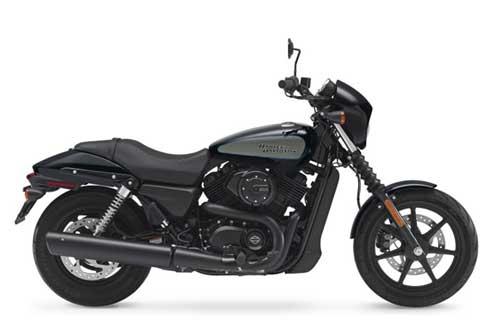 Harley Davidson Street 500 - Vivid Black Deluxe