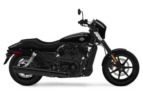Harley Davidson Street 500 - Vivid Black