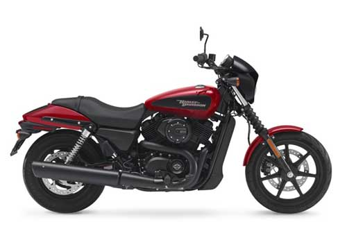 Harley Davidson Street 500 - Wicked Red Deluxe