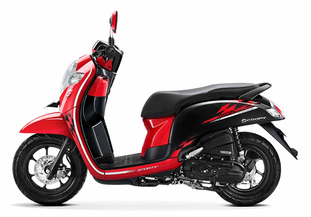 Honda Scoopy 2018 - Stylish Red