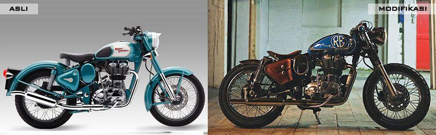 Royal Enfield Classic 500 by MotoVida Cycle Inc.