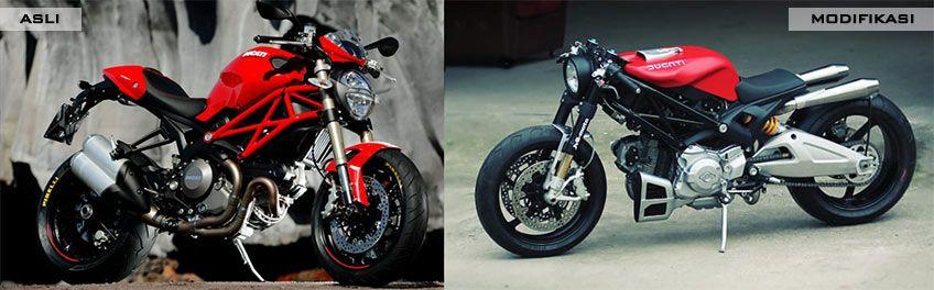 JVB Moto 'Flat Red 2' (Ducati Monster 1100)