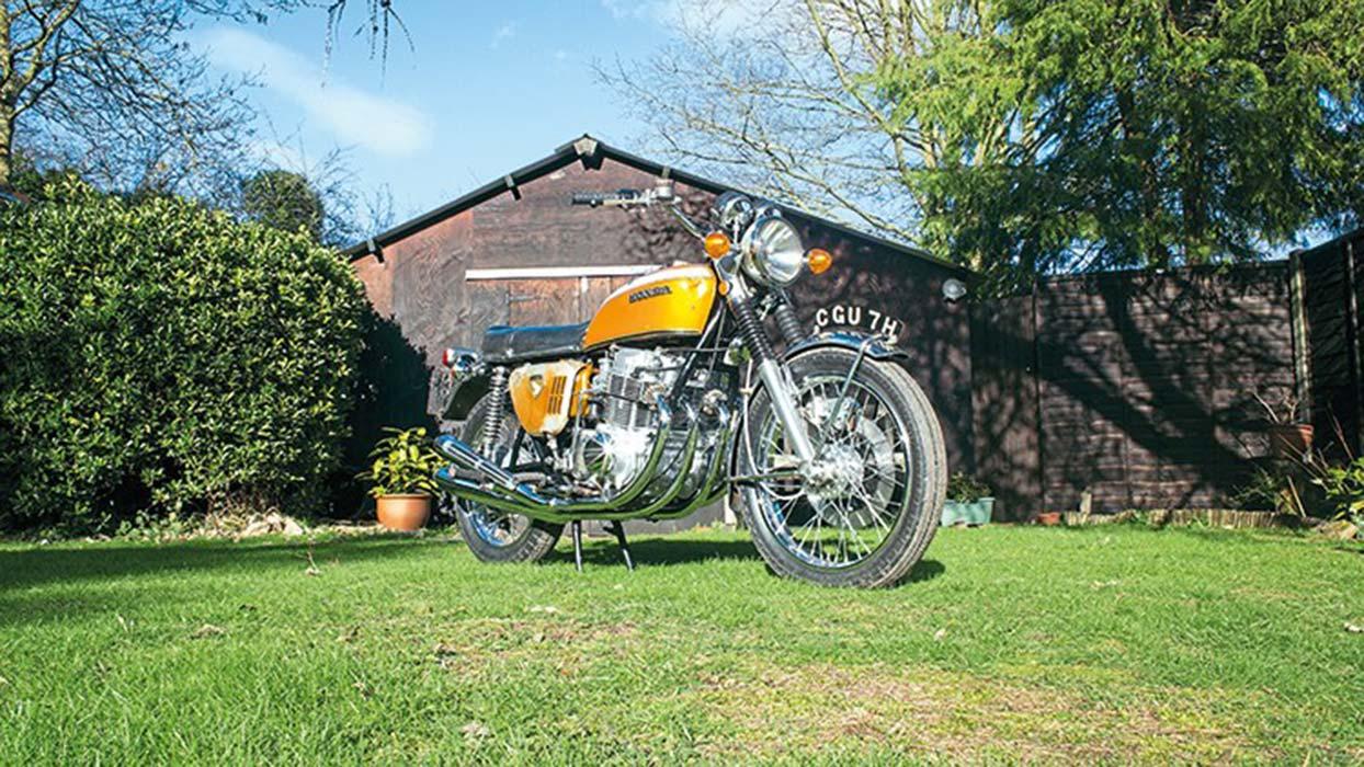 Purwarupa Honda CB750 tahun 1969