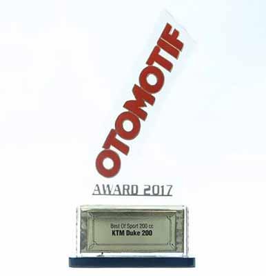 Motor Sport 200cc Terbaik - KTM Duke 200 - Otomotif Award