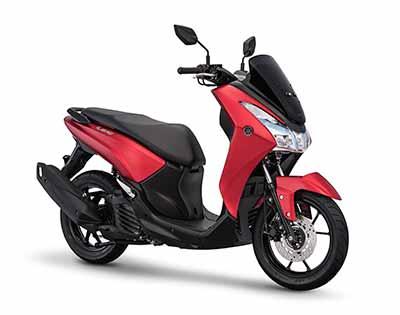 Yamaha Lexi - Matte Red Metallic