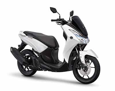 Yamaha Lexi 2018 - White Metallic
