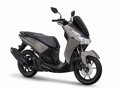 Yamaha Lexi-S - Matte Grey Metallic