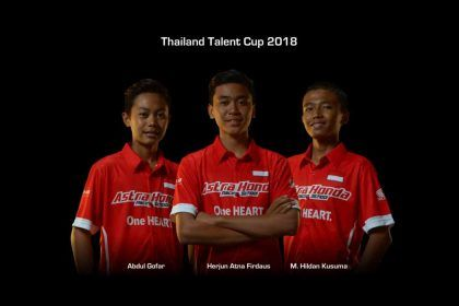 Thailand Talent Cup 2018 - Astra Honda Racing School - Team