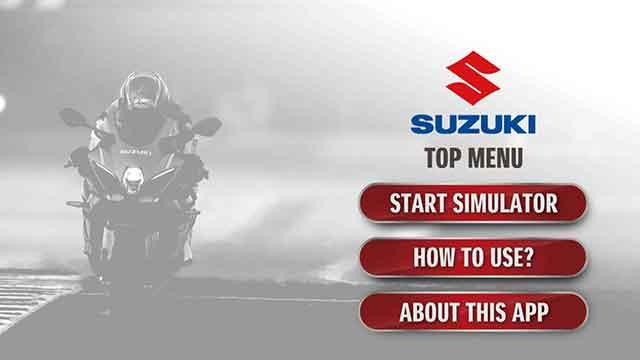 Suzuki sound experience - aplikasi simulasi sirkuit