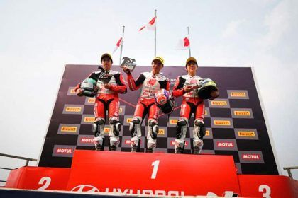 Podium ATC - Chang International Circuit, Buriram, Thailand