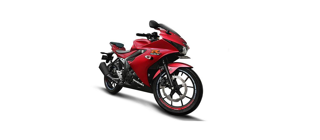 Suzuki GSX-R150 Matte Summer Red