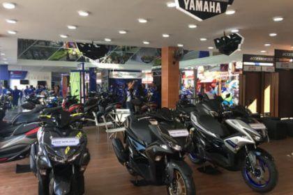 Booth Yamaha - Jakarta Fair 2019