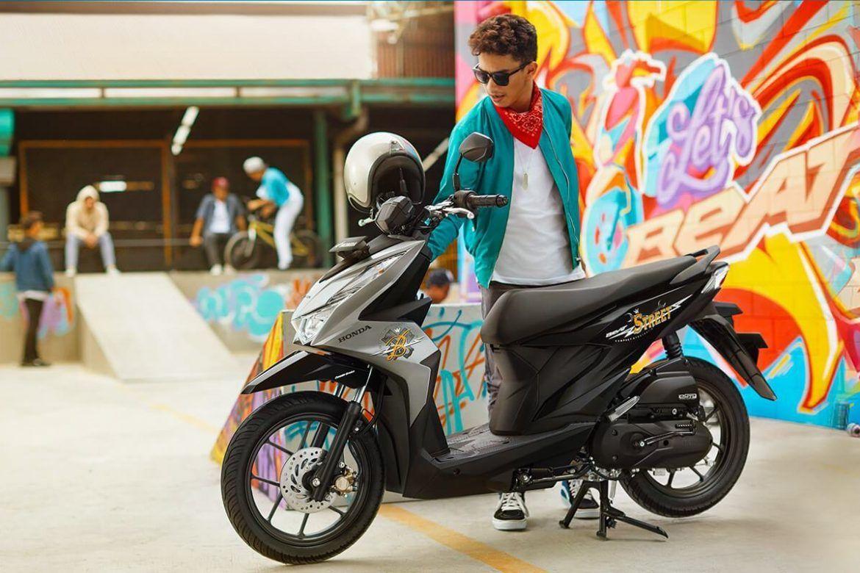 Motor honda beat street terbaru