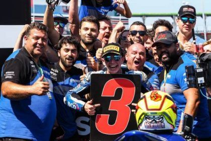 Andy Verdoïa - Podium 3 WorldSSP300 2019