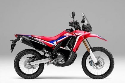 Honda CRF450-Rally - Extreme Red 2019