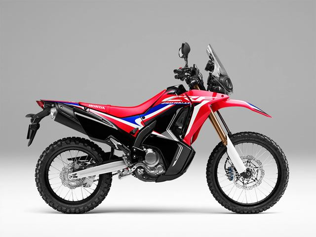 Honda CRF450-Rally - Extreme Red 2019
