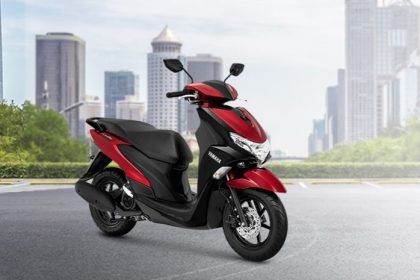Yamaha FreeGo red
