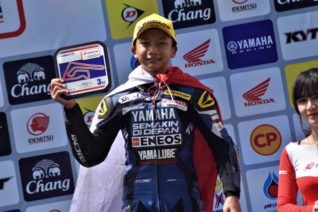 Wahyu Nugroho - YRI Rider Podium ARRC 2019 Thailand
