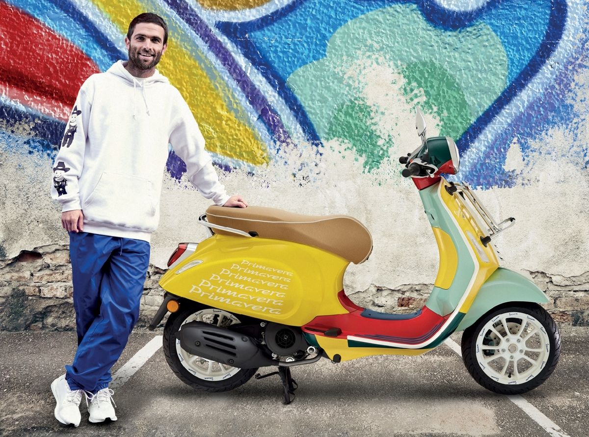 Vespa Sean Wotherspoon Indonesia