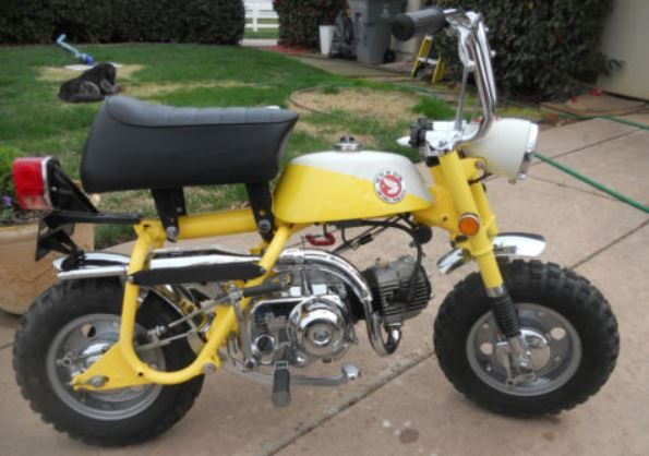 Honda Mini Trail Z50 1968