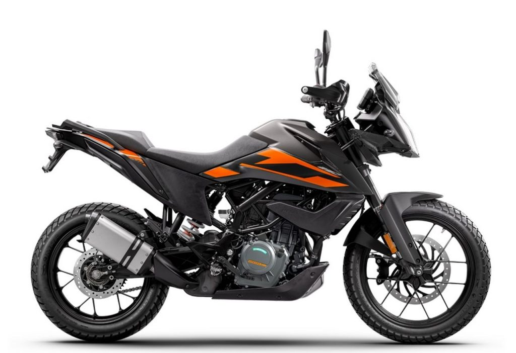 Motor adventure terbaru KTM