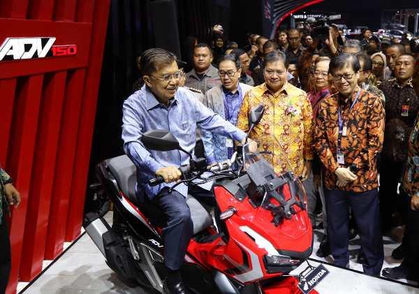 Honda ADV 150 GIIAS 2019 merah