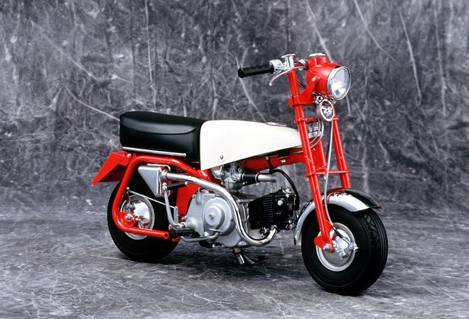 Honda Monkey pertama tahun 1961