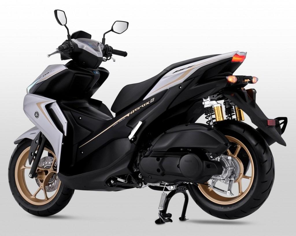 Yamaha aerox 155 2021 desain body